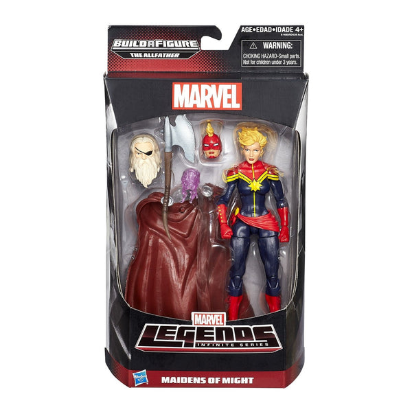 "Marvel Legends Infinite Series Maidens of Might Captain Marvel 6"" Figure"