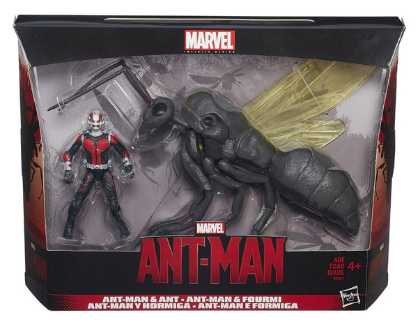 Marvel Infinite Series Ant-Man 3.75 Inch Figure with Flying Ant