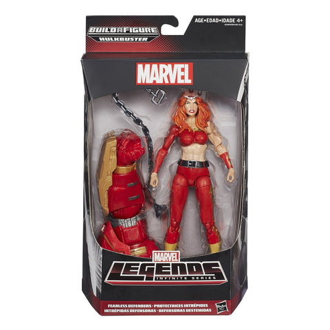 "Marvel Legends Infinite Series Fearless Defenders Thundra 6"" Figure"