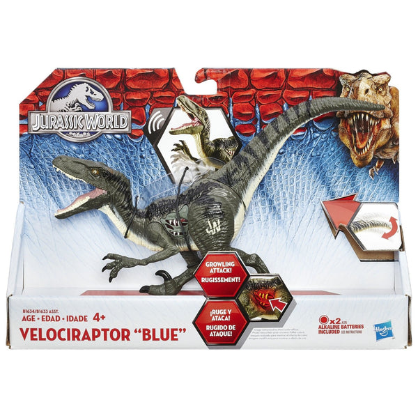 Jurassic World Blue Raptor