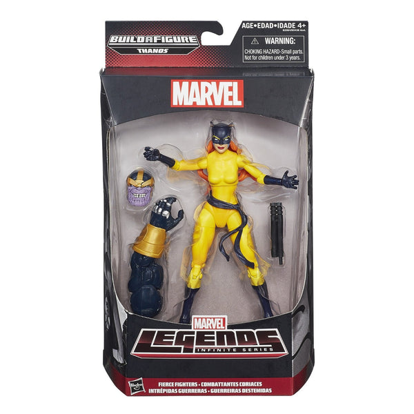 "Marvel Legends Infinite Fierce Fighters Hellcat 6"" Figure"