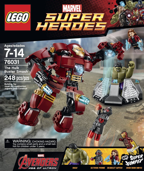 Lego Marvel Age of Ultron Hulk Buster Set