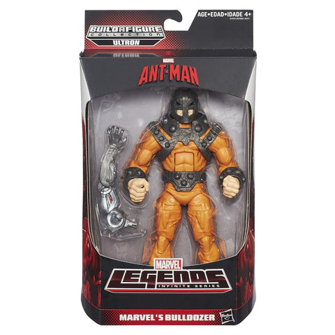 "Marvel Legends Infinite Series Bulldozer 6"" Figure"