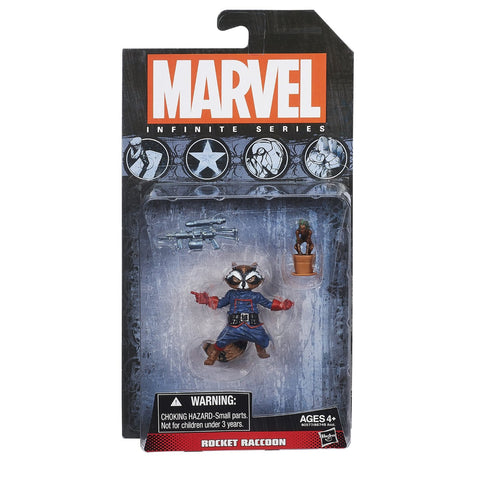 Marvel Infinite Series Rocket Raccoon Figure, 3.75""