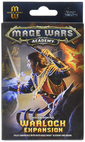 Mage Wars Academy: Warlock Expansion Board Game