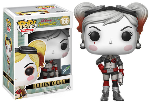 Funko pop bomb shell Harley Quinn chase