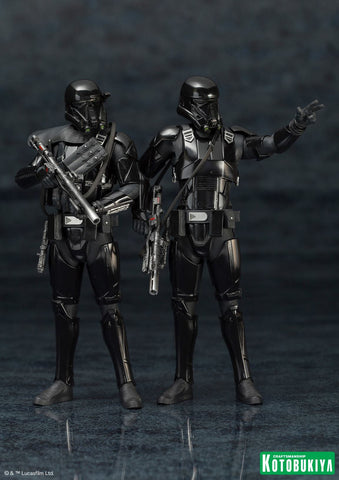 1/10 Rogue One: A Star Wars Story - ARTFX+ Death Trooper Set of 2pcs PVC