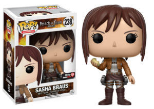 Funko pop attack on titan Sasha braus game stop exclusive