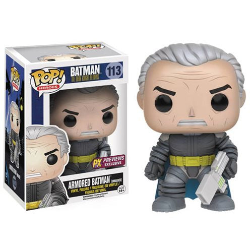 Batman: The Dark Knight Returns Unmasked Armored Batman Funko Pop! Vinyl Figure - Previews Exclusive