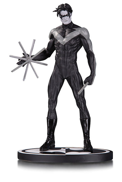BATMAN: BLACK & WHITE NIGHTWING BY JIM LEE STATUE