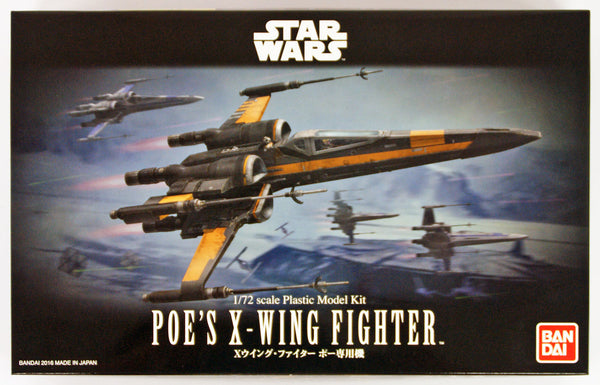 Bandai Poe X-Wing model kit 1/72