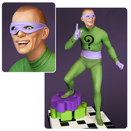 Batman 1966 TV Series Riddler Maquette Statue