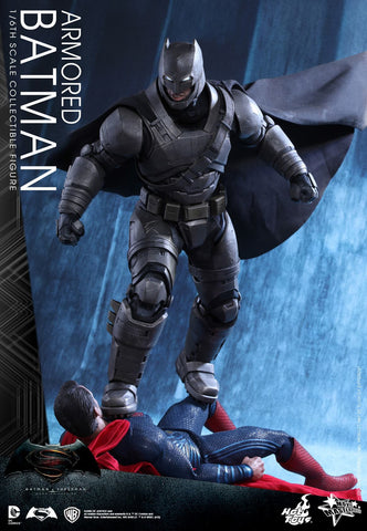 Hot Toys DC Batman v Superman: Dawn of Justice – Armored Batman 1/6 Scale Figure