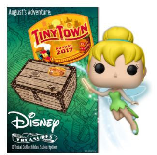 Disney Treasures Funko Box Tiny Town August 2017