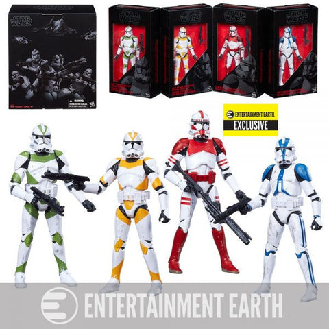 Star Wars The Black Series Order 66 Clone Troopers 4-Pack