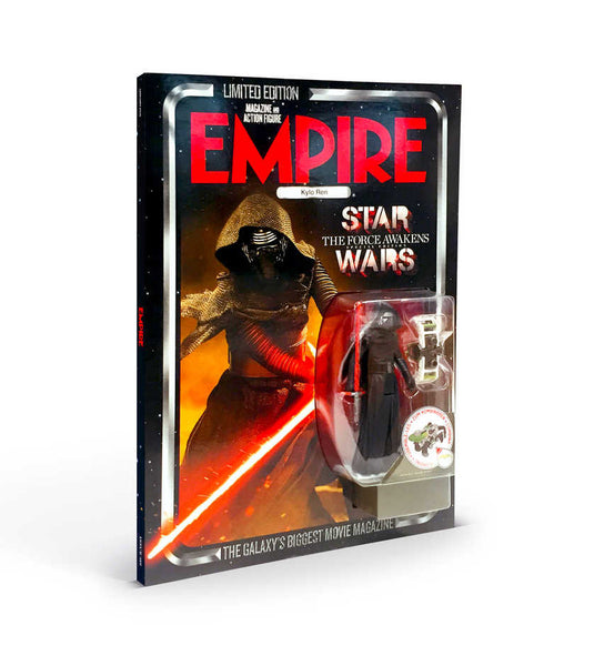 Limited Edition Empire Magazine Star Wars Cover With Kylo Ren Figure Pre Order