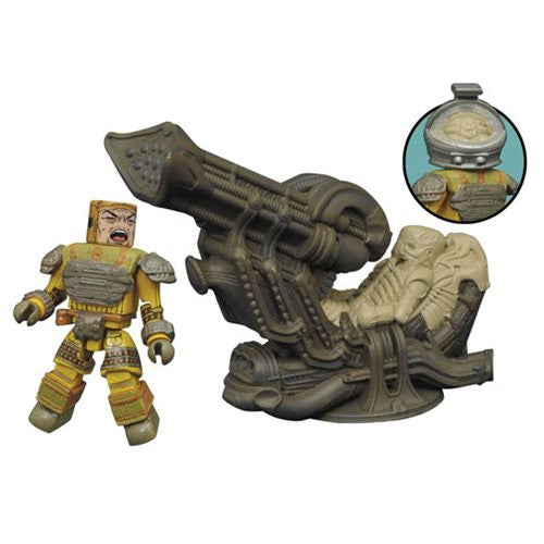 Aliens Minimates Deluxe Space Jockey Set diamond select
