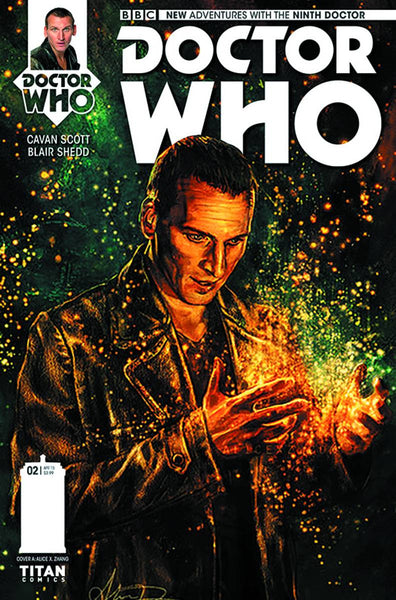 DOCTOR WHO 9TH #2 (OF 5) REG ZHANG