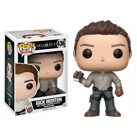 The Mummy 2017 Nick Morton Pop! Vinyl Figure FUNKO POP
