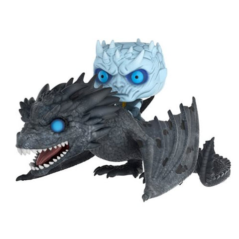 FUNKO POP Game of Thrones Viserion Pop! Vinyl Ridez with Night King Figure