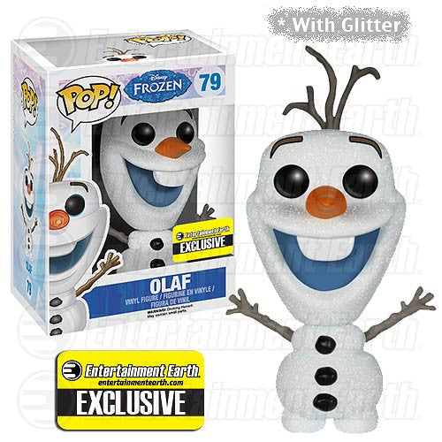 FUNKO Entertainment Earth Exclusive Glitter Olaf