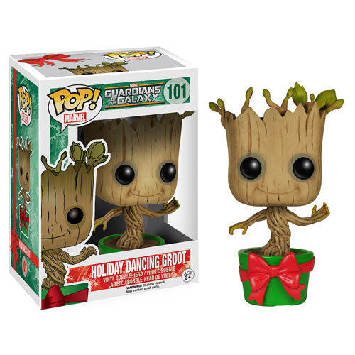 Guardians of the Galaxy Holiday Dancing Groot Pop! Vinyl Bobble Head Figur