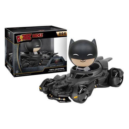 Batman V Superman: Dawn of Justice Batmobile Dorbz Ridez with Batman Vinyl Figure