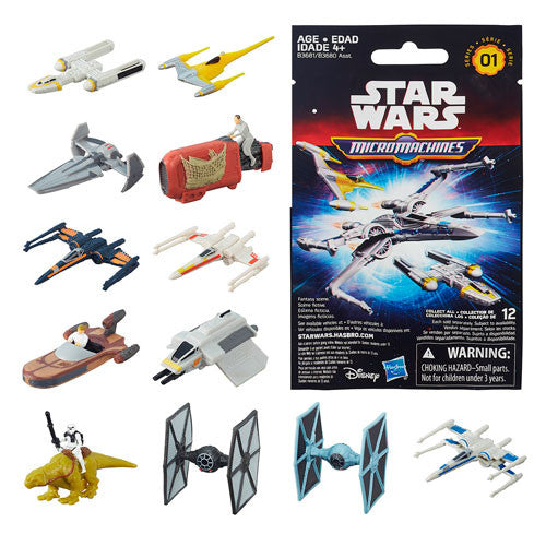 Star Wars The Force Awakens MicroMachines Blind Bag Vehicles Wave 1