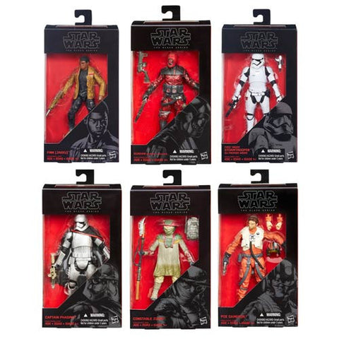 Star Wars: Episode VII - The Force Awakens The Black Series 6-Inch Action Figures Wave 2 Case