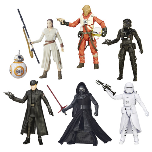 Star Wars: Episode VII - The Force Awakens The Black Series 6-Inch Action Figures Wave 4 Case