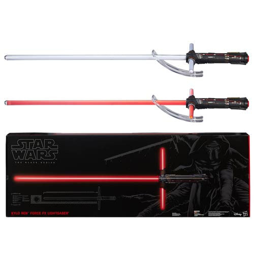 Star Wars: Episode VII - The Force Awakens Kylo Ren Force FX Deluxe Lightsaber Replica