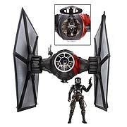 "STAR WARS Black Series Tie Fighter the force awakens 6"" version"