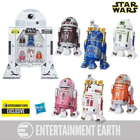 Star Wars The Black Series Astromech Droids 3 3/4-Inch Action Figures - Entertainment Earth Exclusive