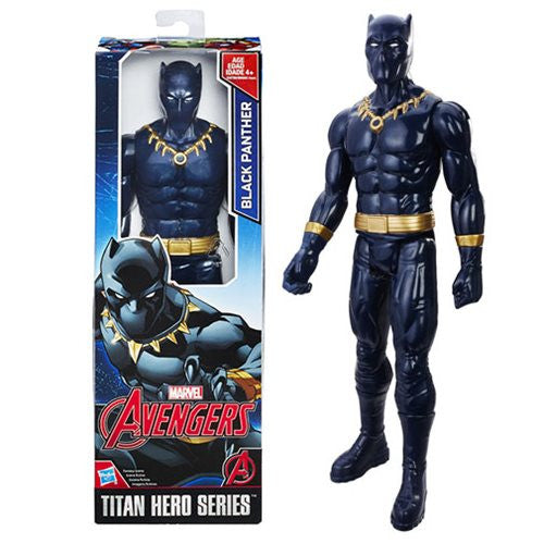 Avengers Titan Hero Black Panther 12-Inch Action Figure
