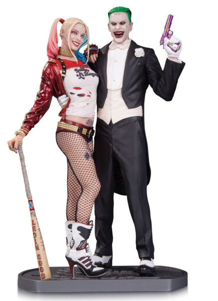DC Collectibles Suicide Squad Movie Harley Quinn and Joker Statue