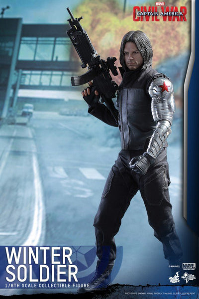 Hot Toys Marvel Winter Soldier Civil War Regular Version