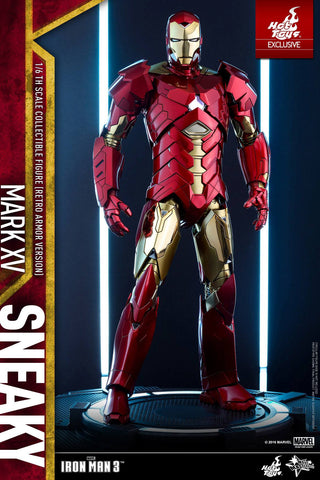 Iron Man Sneaky Mark XV Retro Armor Version 1/6 Scale Figure