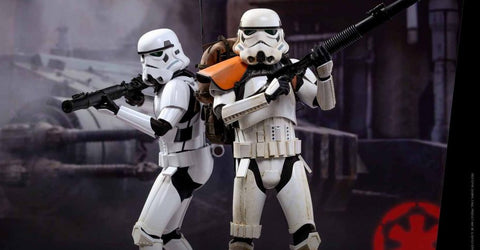 HOT TOYS Rogue One: A Star Wars Story – Stormtrooper Jedha Patrol (TK-14057) 1/6th scale Collectible Figure