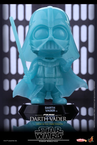 Star Wars Hot Toys Cosbaby Glow in the Dark Vader
