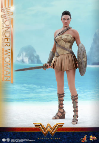 DC Wonder Woman 1/6 Scale Training Armor Version by Hot Toys