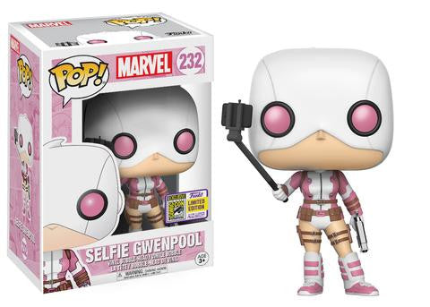 FUNKO POP SDCC exclusive 2017 Gwenpool Selfie Stick Pop Vinyl