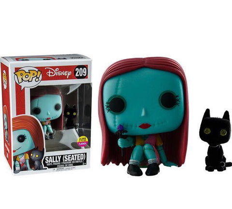 Funko pop glow in the dark exclusive sally (seated)