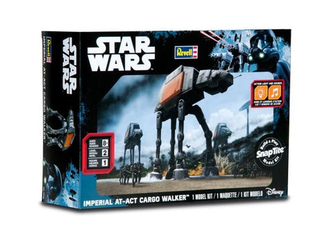 Revell Star Wars SnapTite Build & Play Imperial AT-ACT Cargo Walker