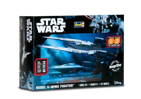 Revell Star Wars SnapTite Build & Play Rebel U-wing Fighter