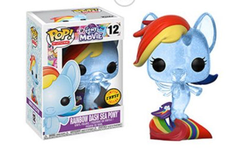Funko pop rainbow dash sea pony chase