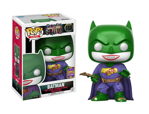 Funko pop D.C. Imposter Batman joker exclusive
