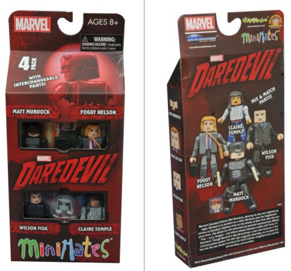 Diamond select minimates daredevil minimates series 1 box set