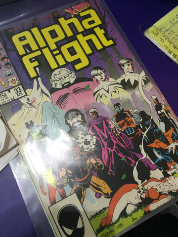 Rare Comic Marvel Alpha Flight 33