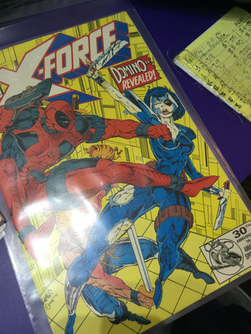 Rare Comic Marvel X-Force #11