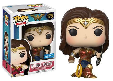 Wonder Woman with Shield Pop! (Walmart exclusive) FUNKO POP